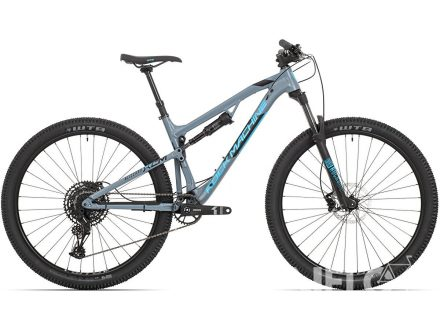 Rock Machine Blizzard XCM 30-29 mat slate grey/neon blue/black 2020