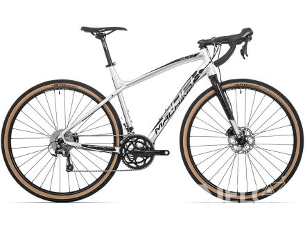 Rock Machine GravelRide 500 gloss silver/black 2020