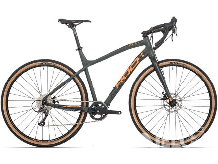Foto - Rock Machine GravelRide 200 mat khaki/neon orange/black2020