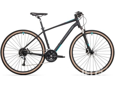 Rock Machine Cross 700 mat black/petrol blue/dark grey 2020