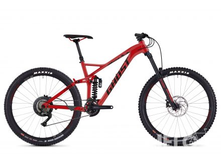 Foto - Ghost FRAMR 4.7 red/night black