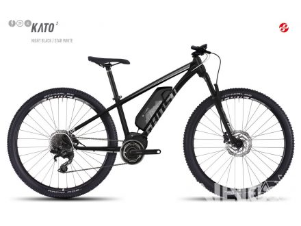 "Ghost Ebike KATO 2 29"" nigh black/star white 2017 - VÝPRODEJ"