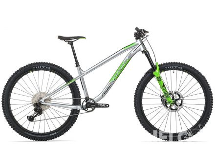 Foto - Rock Machine Blizz TRL 70-29 gloss light grey/DVO green/black 2021