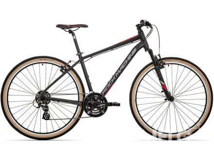 Foto - Rock Machine CrossRide 100 mat black/dark grey/brick red 2021
