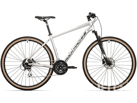 Rock Machine CrossRide 300 gloss silver/black 2021
