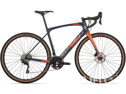 Rock Machine GravelRide CRB 700 gloss dark blue/brick orange/silver 2021
