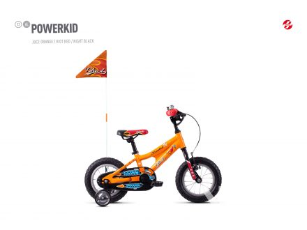 Ghost Powerkid 12 - Orange / Red 2021