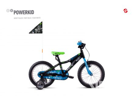 Ghost Powerkid 16 - Black / Blue 2021