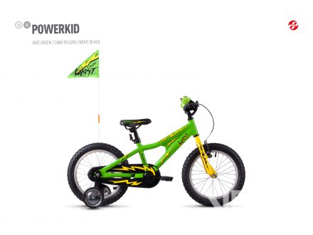 Foto - Ghost Powerkid 16 - Green / Yellow 2021