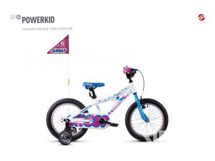 Ghost Powerkid 16 - White / Blue 2021