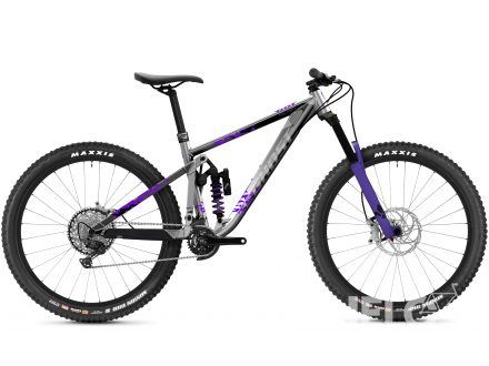 Ghost Riot Enduro Full Party - Silver / Electric Purple 2021