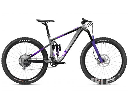 Foto - Ghost Riot Trail Full Party - Silver / Electric Purple 2021