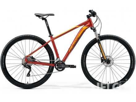 Merida BIG.NINE 80 Glossy Sparkling Red (Orange) 2020