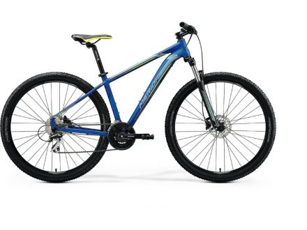 Merida BIG.NINE 20-D Silk Medium Blue (Silver/Yellow) 2020